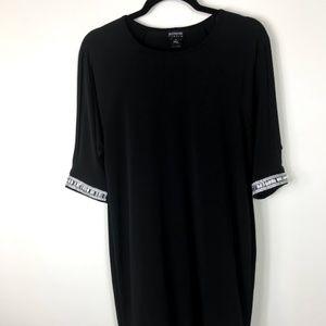 Enfocus Studio Black Dress Rhinestone Sleeves 4